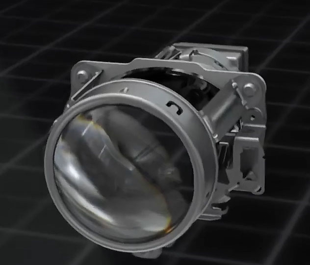 AFS Advanced VarioX-Projector Front lighting System