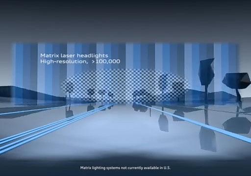 Audi A8 Matrix LED Headlight