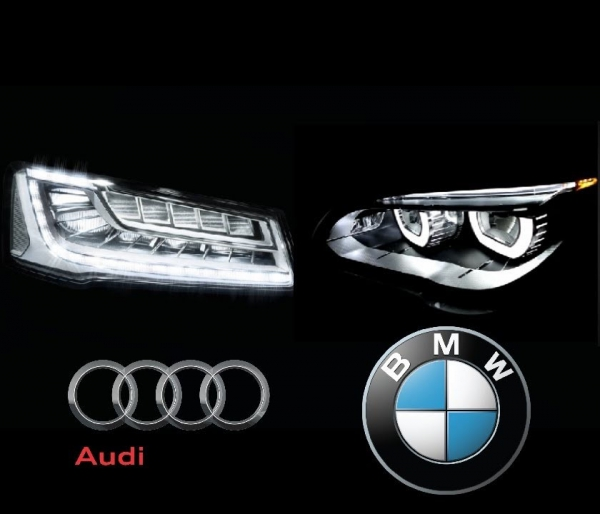 BMW Intelligent Headlights VS Audi LED Matrix Headlights