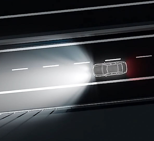 Mercedes MULTIBEAM LED Intelligent Light System