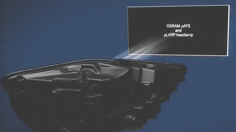 Osram Innovative Headlight Optimum Light Conditions at All Times without Dazzling